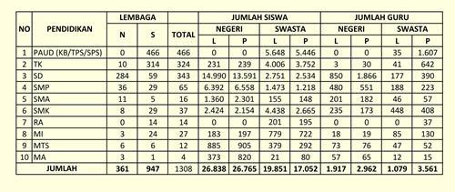 Hasil gambar untuk statistik pendidikan
